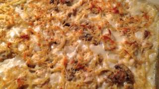 Bubbling Hot Turkey Tetrazzini~ Fresh Out Of The Oven!