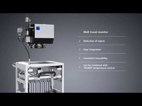 TRUMPF sensor systems: Melt travel monitor - Melting made to measure