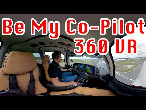Cirrus SR22T, Be My Co-Pilot, 360 Video VR, on the Atlantic Shoreline, and Airplanes in Trouble!