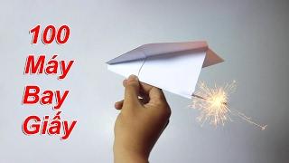 NTNVlogs - Phi 100 Chiếc Máy Bay Giấy ( Paper Airplane 4K )