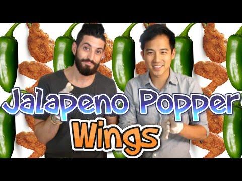 Jalapeño Popper Wings ft Jimmy Wong  Someones In My Kitchen