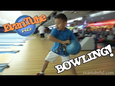 EvanTubeHD goes BOWLING + ARCADE ACTION!