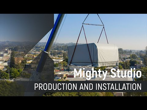 Mighty Studio Production and Installation