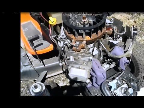 Briggs & Stratton Engine Runs bad, Surges, Backfires-The FIX, parts below