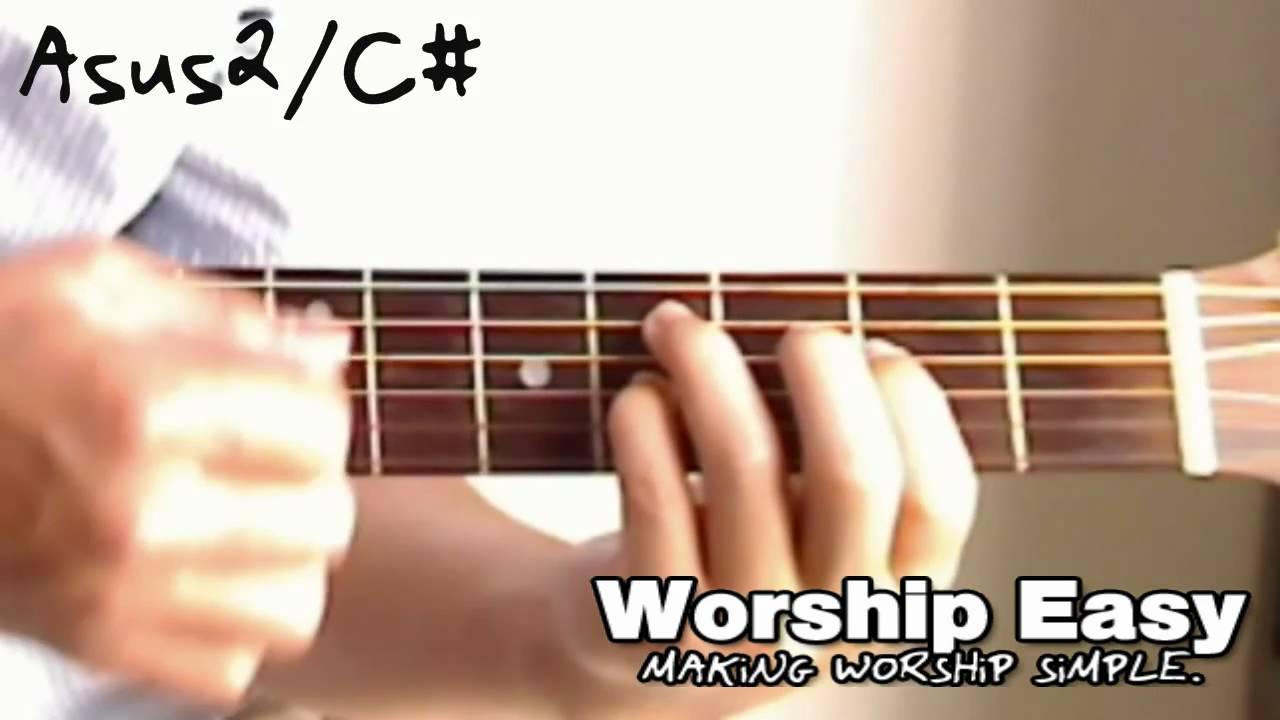 The Asus2c Chord Guitar Youtube