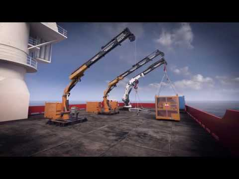 Brimmond Group Marine Crane Animation