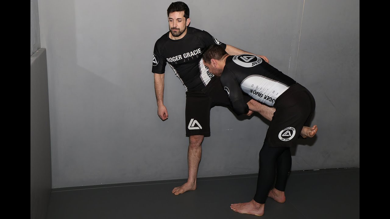How to set up a Single Leg Takedown off the Wall - MMA Training with Dean Barthelemy