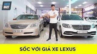 Giá xe Lexus 2019: Sốc với giá của LS460 chỉ hơn 1 tỷ một chút (P1)  Lexus Price in Vietnam 