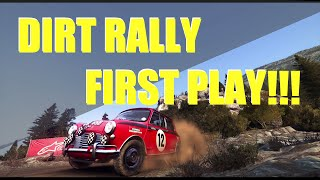 DIRT RALLY PC: First Drive Review by Pink Ranger Drift