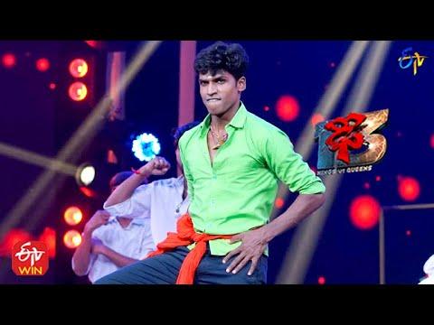 Download Manikanta Performance   Dhee 13  Kings vs Queens   25th August 2021   ETV Telugu