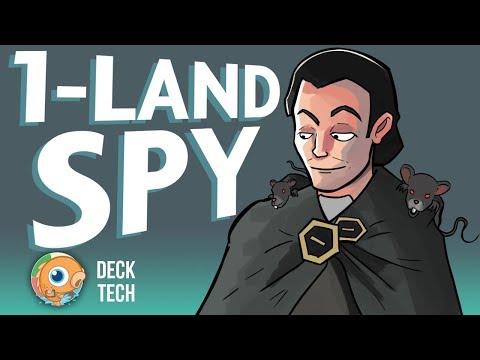 Instant Deck Tech: One Land Spy (Pauper)