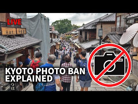 Why Kyoto Banned Photos on the Street
