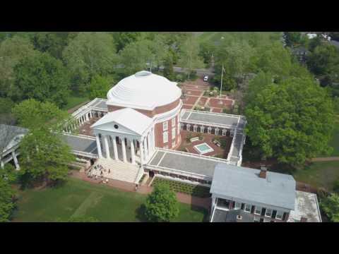 Aerial Video of UVA