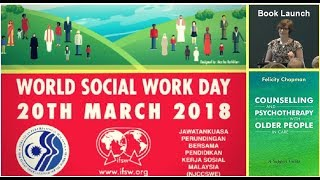 Book launch speech on World Social Work Day