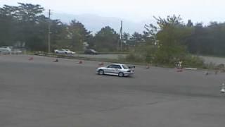 2009/5/24JMRC北東北ジムカーナシリーズ第2戦CLⅢクラス第2ヒート ドライ...