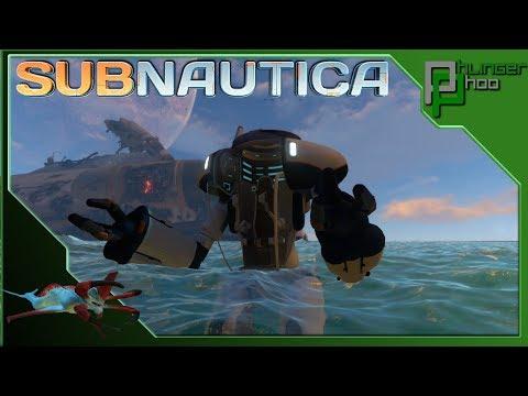 Subnautica  EP9 - TIME CAPSULE - BUILDING THE PRAWN SUIT