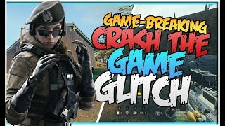 GAME-BREAKING LAG GLITCH - (AFTER PATCH) - ANY OPERATOR!!! - LAG THE GAME  (Rainbow Six Siege)