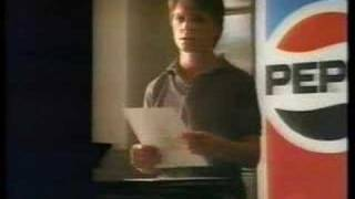 Pepsi Ad - 1985 - Michael J. Fox - 60 seconds