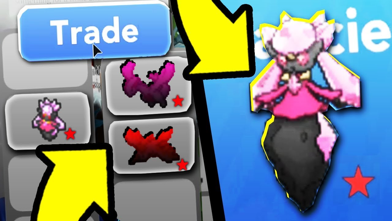 How Much Is Shiny Diancie Worth in Pokemon Brick Bronze ...