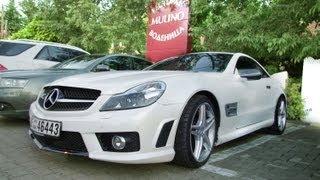 Mercedes SL63 AMG from Dubai