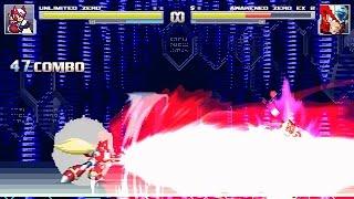 MUGEN - Unlimited Zero (Omega) [Arcade #7]