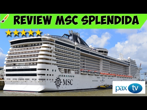 MSC Splendida Обзор круизного лайнера || Cruise ship review MSC Splendida /// GoPro Hero Silver 4