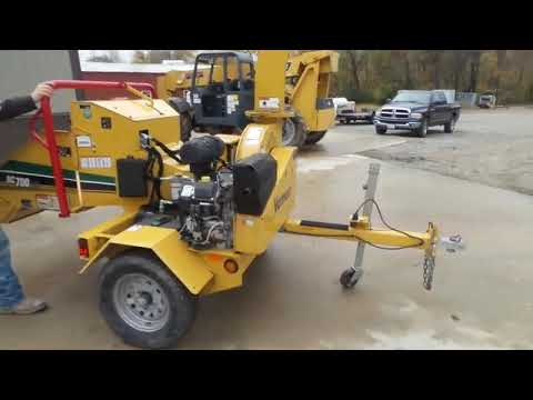 2015 Vermeer BC700XL wood chipper for sale at auction | bidding closes  December 27, 2018