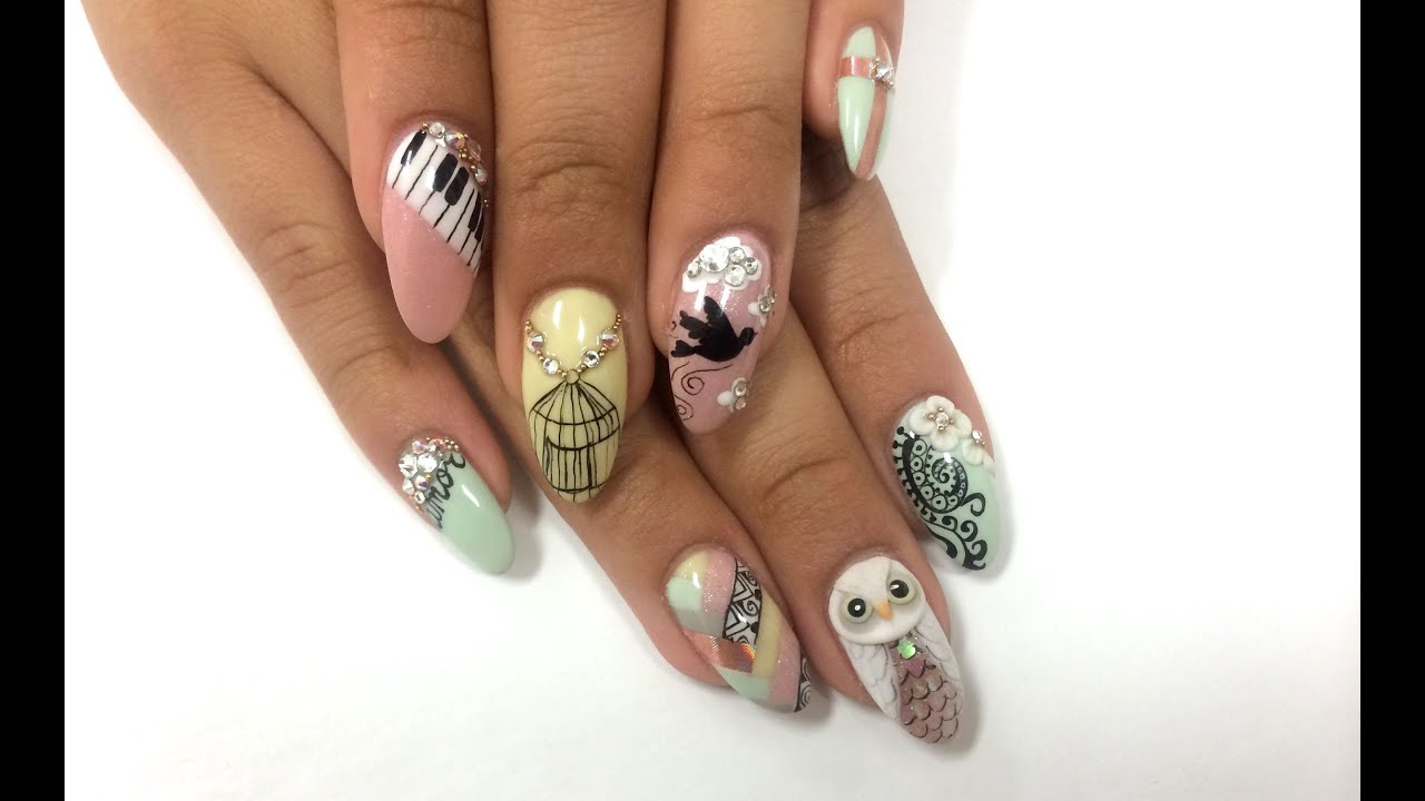 Nails Next Top Nail Artist Finale Challenge - YouTube
