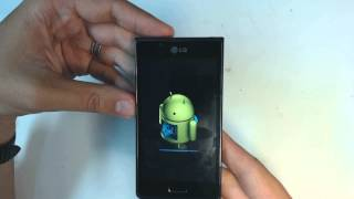 Repeat youtube video Lg Optimus L7 P700 - How to reset - Como restablecer datos de fabrica
