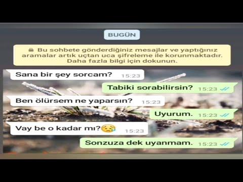 Milyonları Ağlatan Duygusal WhatsApp Konuşmaları #1 {💔🥀😔}