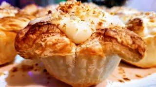 Корзинки Наполеона.Тарталетки с заварным кремом.Цыганка готовит. Gipsy cuisine.