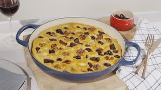How to Make Dried Fig, Olive and Walnut Focaccia | House of Fraser