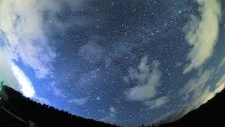 2018年ペルセウス座流星群 極大日の流れ星