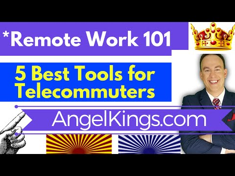 Telecommute Remote Work? 5 Best Tips, Tools, Software to Work from Home - AngelKings.com