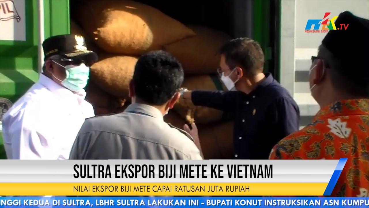 Sultra Ekspor Biji Mete ke Vietnam