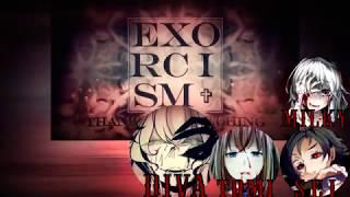 【合唱】 EXORCISM (Creep-P)【3人+1α English Cover Chorus 】