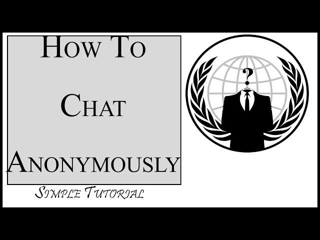 We Code || How To Chat with Anyone Anonymously Online