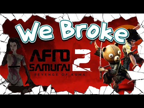 We Broke: Afro Samurai 2