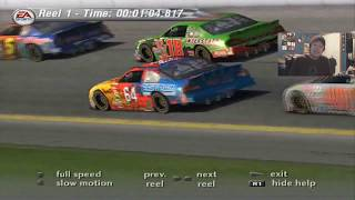 (Funniest Moments Of Season 2) NASCAR Thunder 2003 Career Mode