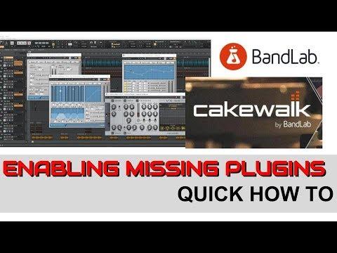 Cakewalk Enabling The Missing VST Plugins