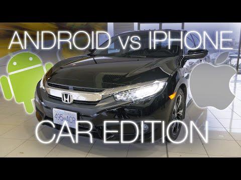 Android Auto vs. Apple Carplay in the 2016 Honda Civic