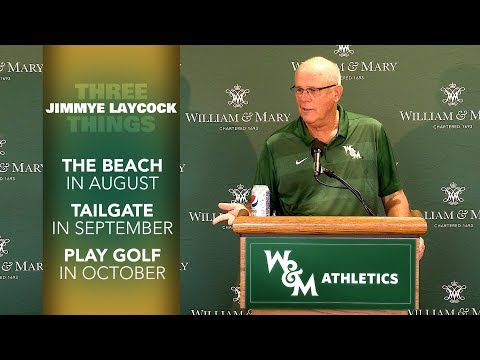 W&M Football Head Coach Jimmye Laycock - Retirement Press Conference HIGHLIGHTS