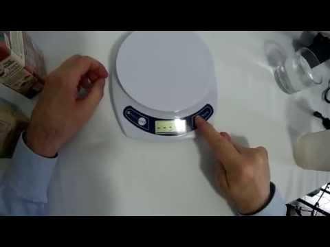 Etekcity - Bilancia da cucina portata 7Kg con tara e calibrazione