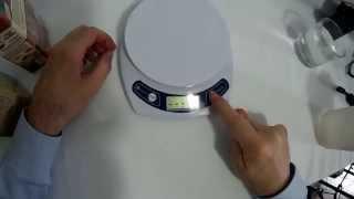 Etekcity Bilancia Da Cucina Portata 7kg Con Tara E Calibrazione Youtube