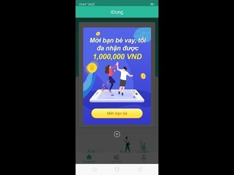 Kiếm 100k Ngày Với Ứng Dụng Cho Vay Idong