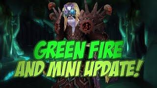Green Fire Quest & Updates =D! [Cobrak]