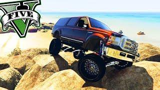 GTA V - O Carro MAIS ALTO do GTA 5! SOBE EM TUDO!