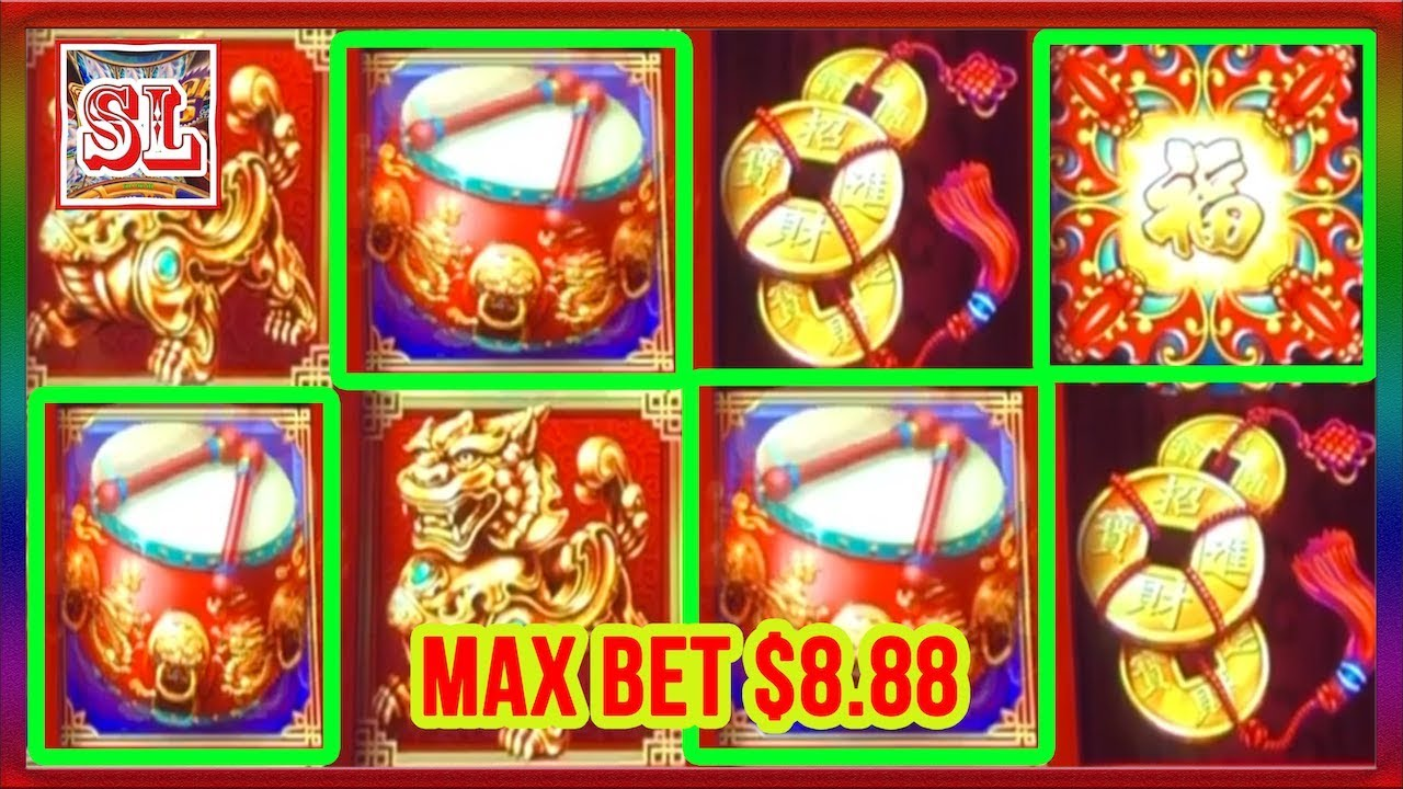 Super Big Win Dancing Drums Max Bet 8 88 Slot