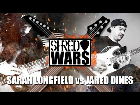 Shred Wars: Jared Dines VS Sarah Longfield