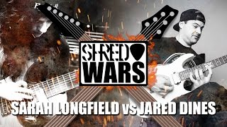 Download Shred Wars: Jared Dines VS Sarah Longfield MP3 song and Music Video
